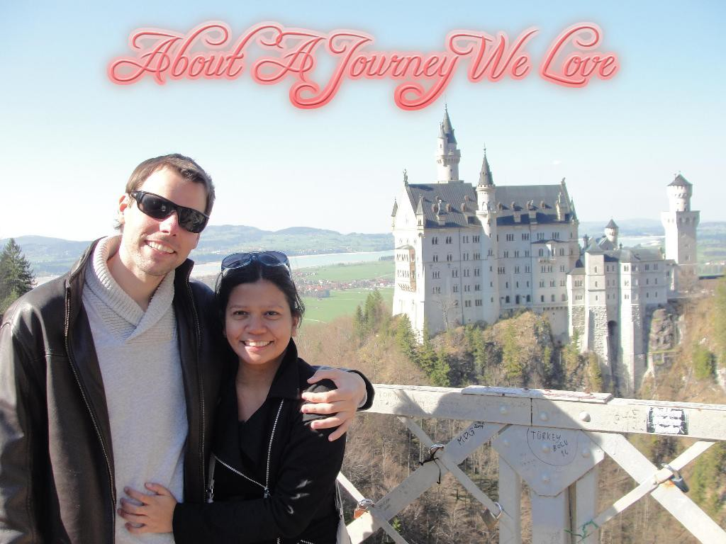 The authors of A Journey We Love in Neuschwanstein Castle