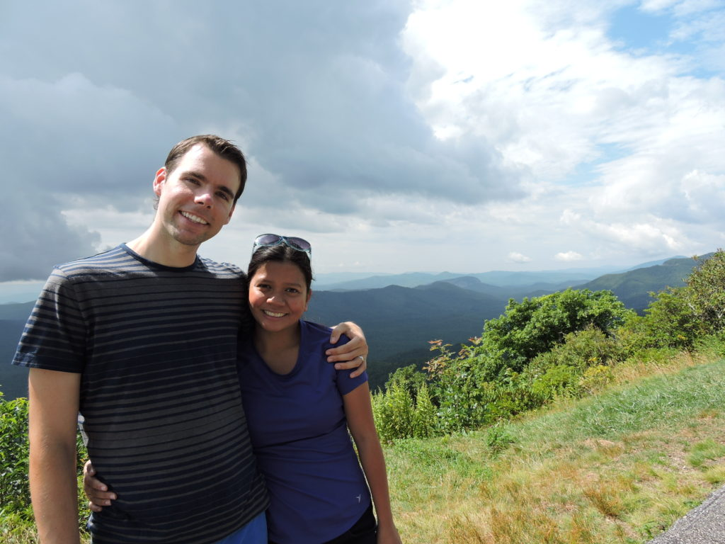 At one of the Road stops at the Blue Ridge Parkway