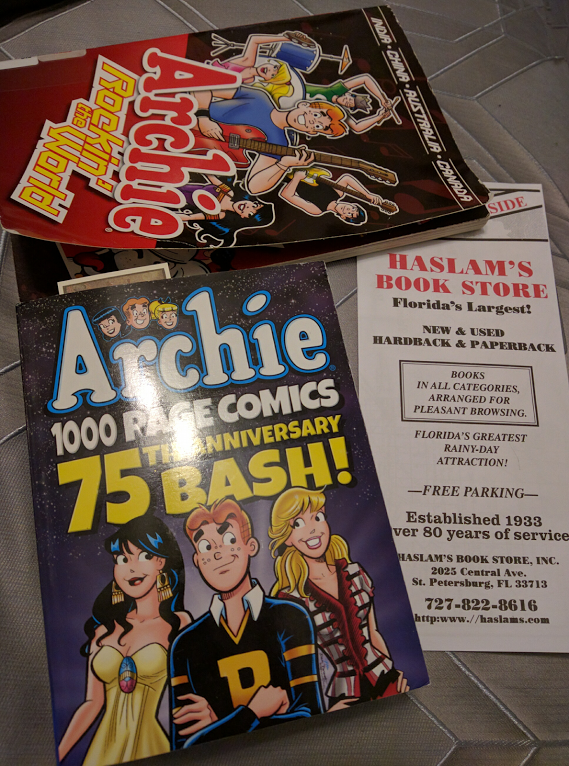 Haslams Bookstore Archie Comics Haul